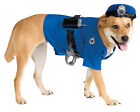 Dog Police Officer Costume Puppy Cop Sheriff Pet Halloween Small Medium Large XL