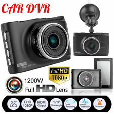 "3"" Full HD 1080P Car DVR CCTV Dash Camera G-sensor Vehicle Video Recorder - CAM"