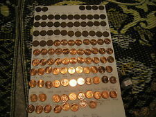 CANADA 1920 TO 2012 PENNIES COLLECTION WITH MANY RARE VARIETIES MISS 1922-1926