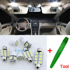 Full LED Interior Premium SMD Bulb 8Pcs Bright White For Mazda CX-5 CX 5 ML