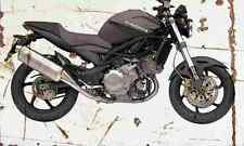 Cagiva Raptor 1000 2004 Aged Vintage Photo Print A4 Retro poster