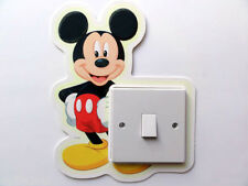 DISNEY MICKEY MOUSE SWITCH  WALL STICKER NURSERY/KIDS/GIRLS/BOYS ROOM DECAL