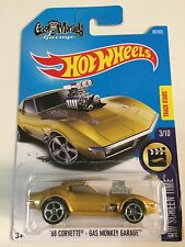 1:64 2017 Hot Wheels '68 Corvette | Gas Monkey Garage (Gold)
