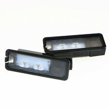 2 Pcs Original LED License Plate Light For VW Beetle Polo Golf MK7 CC 35D943021A
