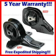 L718 For 99-05 Pontiac Grand Am/ Olds Alero 2.4 3.4L AUTO Trans Mount 2pcs