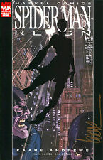 SPIDER-MAN REIGN #1 VARIANT EDITION SIGNED BY ARTIST KAARE ANDREWS