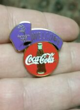 COCA-COLA 2000 Sydney Olympics Welcome Collectible Lapel/Hat Pin EUC