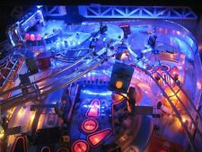 Demolition Man Pinball Playfield Luz Mod