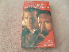 The Ghost and the Darkness (VHS, 1997) - MICHAEL DOUGLAS - NEW