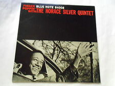 HORACE SILVER FINGER POPPIN' WITH BLUE NOTE JAPAN LP BNJ 71022 Blue Mitchell