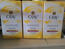 3x Olay Complete All Day Moisturizer W/ Broad Spectrum SPF 15 Oil Free EXP 02-17