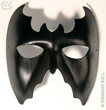 SIMILPELLE BAT Occhi Maschera Batman Halloween FANCY DRESS