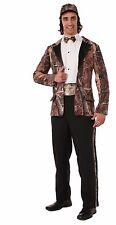 "Huntin' for Love Groom Costume for Men up to 42"" Chest Camo Tuxedo New by Forum"
