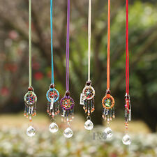 Set 6 Hanging Dream Suncatcher Crystal Ball Prisms Rainbow Fengshui Pendant 20mm