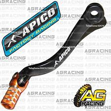 Apico Black Orange Gear Pedal Lever For Husaberg FE 450 2009 Motocross Enduro