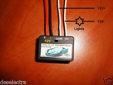 MINI TIMER SWITCH TIME RELAY 1 TO 20 SEC KIT 12V / 20A Delay ON CAR DAYLIGHTS