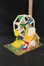 "Vintage ""Fisher Price"" Music Box Ferris Wheel Lot 132"