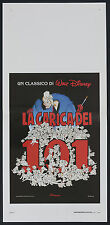 LOCANDINA, LA CARICA DEI 101 One Hundred and One Dalmatians DISNEY ANIMAZIONE