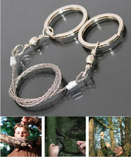 Stainless Steel Wire Saw Camping Hiking Hunting Climbing Emergency Survival Gear
