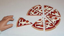 """Pepperoni Pizza - Doll Food made for 18"""" American Girl Dolls"""