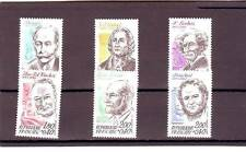 a104 - FRANCE - SG2556-2561 MNH 1983 RED CROSS FUND - CELEBRITIES