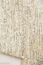 Arthur Slenk Remixed Anthropologie Wallpaper Rem-03 NLXL handwritten music $398