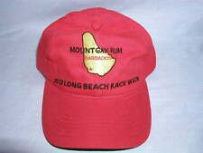 Mount Gay Rum Red Sailing Cap Long Beach Race Week 2012 NWOT