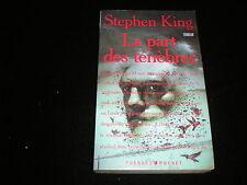 Stephen King : La part des ténèbres (pocket 1ère édition 1993)