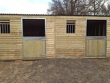 12x24 mobile field shelter stables  delivery £1 mile one way from pe321ad