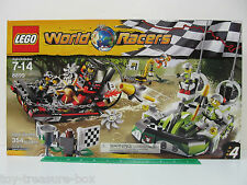 LEGO World Racers 8899 - GATOR SWAMP - Race 4 - 354 piece set - Ages 7-14 yrs