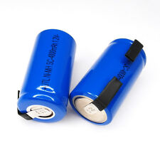 1 pcs Sub C NiMH SubC SC 4800mAh Rechargeable Battery 1.2V Volt Cell pack Tab