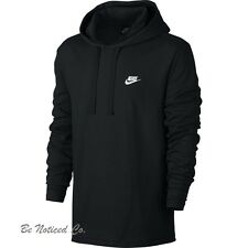 Nike Men's Sportswear Club Hoodie L Black Gym Casual Training Running New