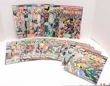 Luke Cage Power Man Comic Book Lot 17-49 Including 48 The First Iron Team Up Key