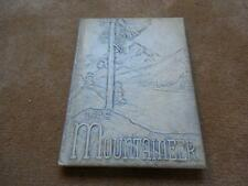 Vintage 1949 South Williamsport PA Junior Senior High School Yearbook