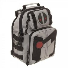 """OFFICIAL Marvel Deadpool X-Force Mini Sling Backpack 9 1/2""""W x 11"""" H x 6 1/2"""" D"""""""
