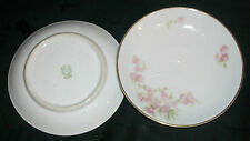 Gorgeous Vintage Set of 2 Noritake Nippon Climbing Flowers Plates or Saucers