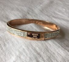 Michael Kors Bracelet Rose Gold Bangle Diamonds