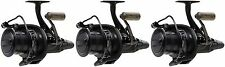 3 x Penn New Affinity II 8000 LC Sea Carp Black Spin Spinning Fishing Reel