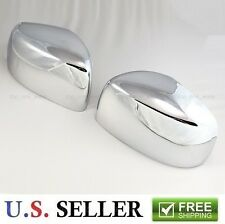 Chrome Side Mirror Trim Overlay Covers For 2008-2015 Chrysler Town and Country