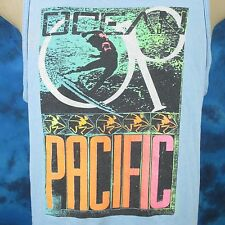 vintage 80s OP OCEAN PACIFIC SURF TANK TOP T-Shirt MEDIUM beach skate neon thin
