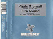 PHATS & SMALL TURN AROUND 3 TRACK CD SINGLE MIXES BY NORMAN COOK - CHRIS & JAMES