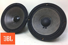 "JBL 2118H 8"" 8-ohm Midrange Speaker Pair AS IS for Parts / Repair See Details 81"