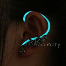 1Pc Lizard Luminous Noctilucence Ear Cuff Pretty Clip Earrings Women Jewelry