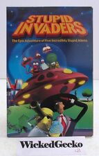 Stupid Invaders (PC, 2001, Ubi Soft, 4 CD-ROMs) based on Space Goofs, Win 95/98