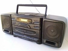 JVC PC-X110 Boombox CD Player Radio AM FM Cassette Tape Deck Portable Stereo