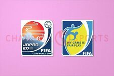 Club World Cup Japan 2011 + Fair Play Sleeve Soccer Patch / Badge