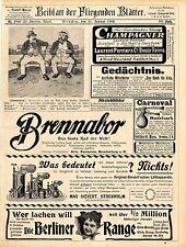 Gebr.Reichstein Brandenburg a.H. Brennabor-Rad Max Sivert Stockholm Lötha...1902
