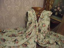 """GRAND LARGE VINTAGE BESPOKE FLORAL 'PICKMERE' CURTAINS BY NOUVEAU 158""""W x 80"""" L"""