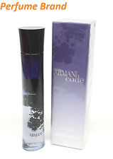 Armani Code 2.5 oz 75ml Spray Eau de Parfum EDP Women