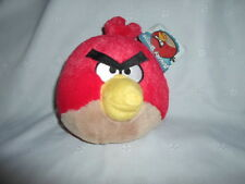 "Angry Birds 6"" Red  Plush Soft Toy Stuffed Animal"